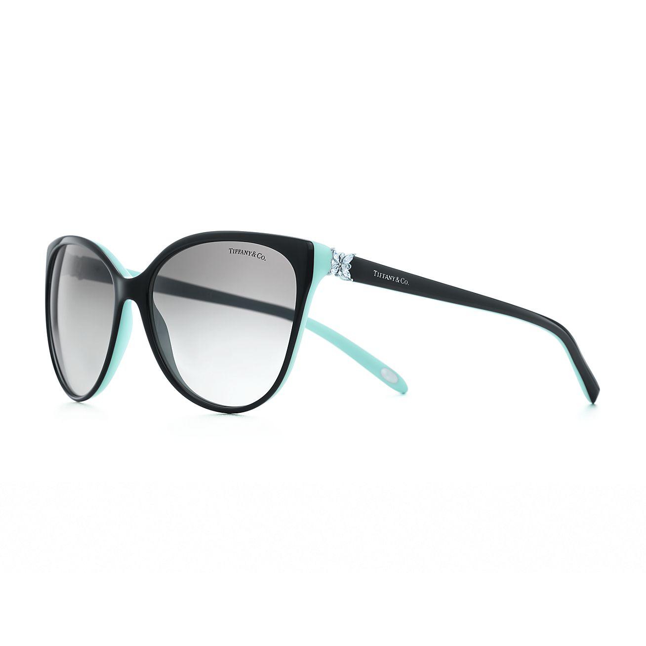 Gafas de sol ojos de gato Tiffany Victoria® en acetato con cristales ...
