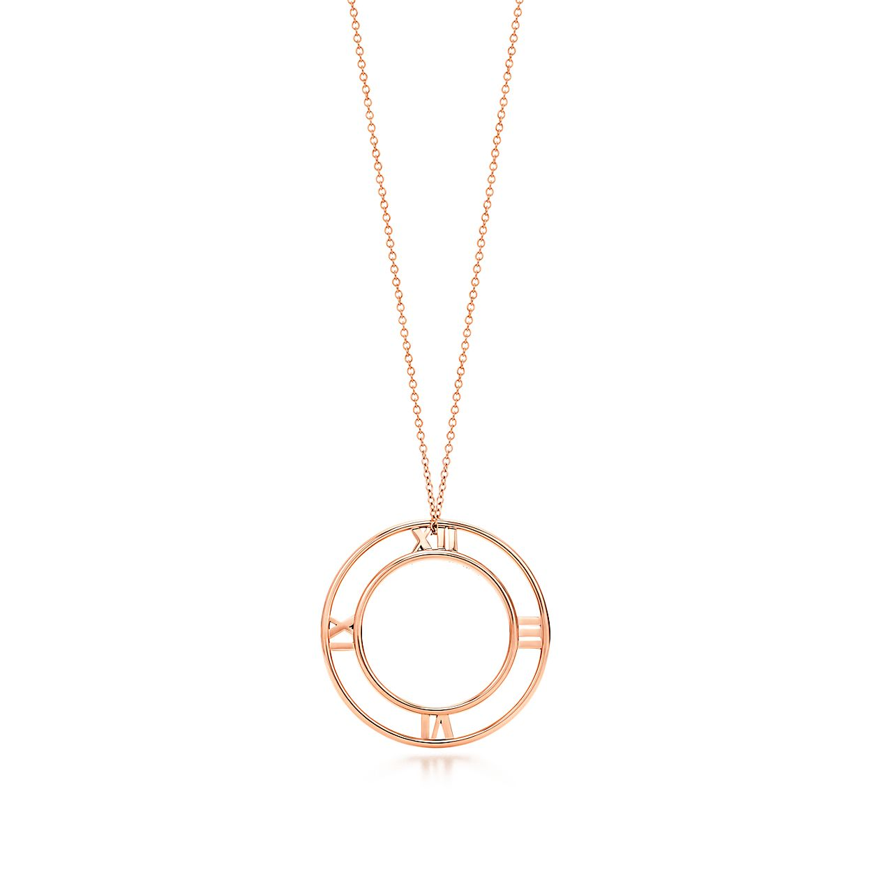Atlas round pendant in 18k rose gold small tiffany co atlasround pendant atlasround pendant aloadofball Gallery