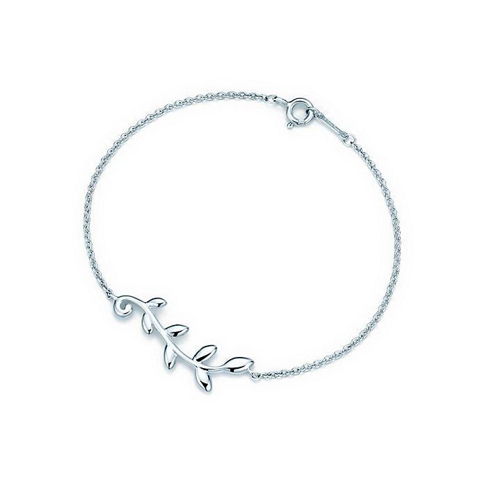 a04dc9619 Paloma Picasso® Olive Leaf vine bracelet in sterling silver, medium ...