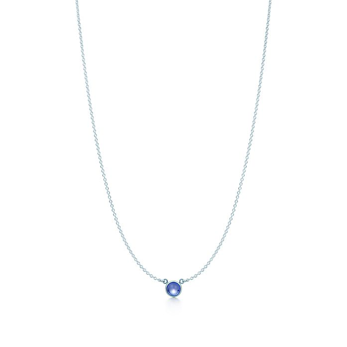 537c357bb Elsa Peretti® Color by the Yard pendant in sterling silver with a ...