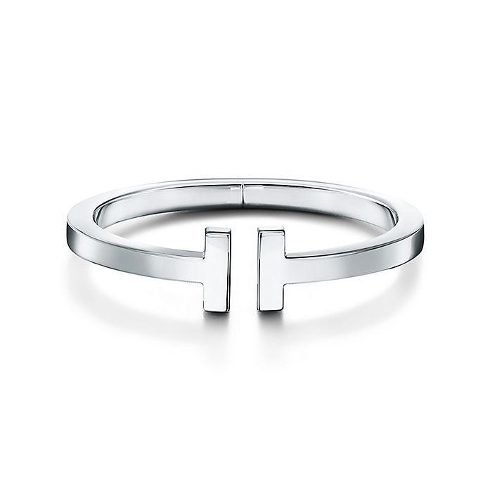 52a7afb3f Tiffany T square bracelet in sterling silver, medium. | Tiffany & Co.
