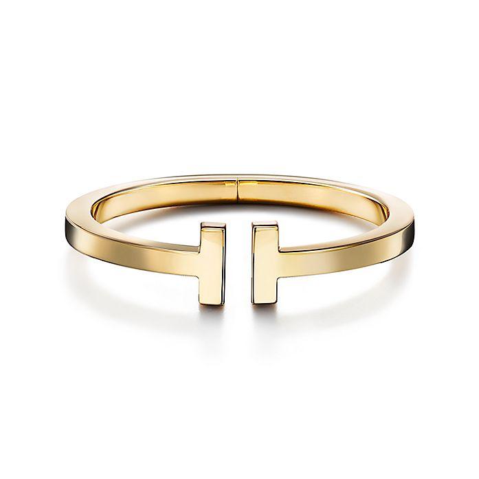 d113d8068 18K Gold Tiffany T Square Bracelet | Tiffany & Co.