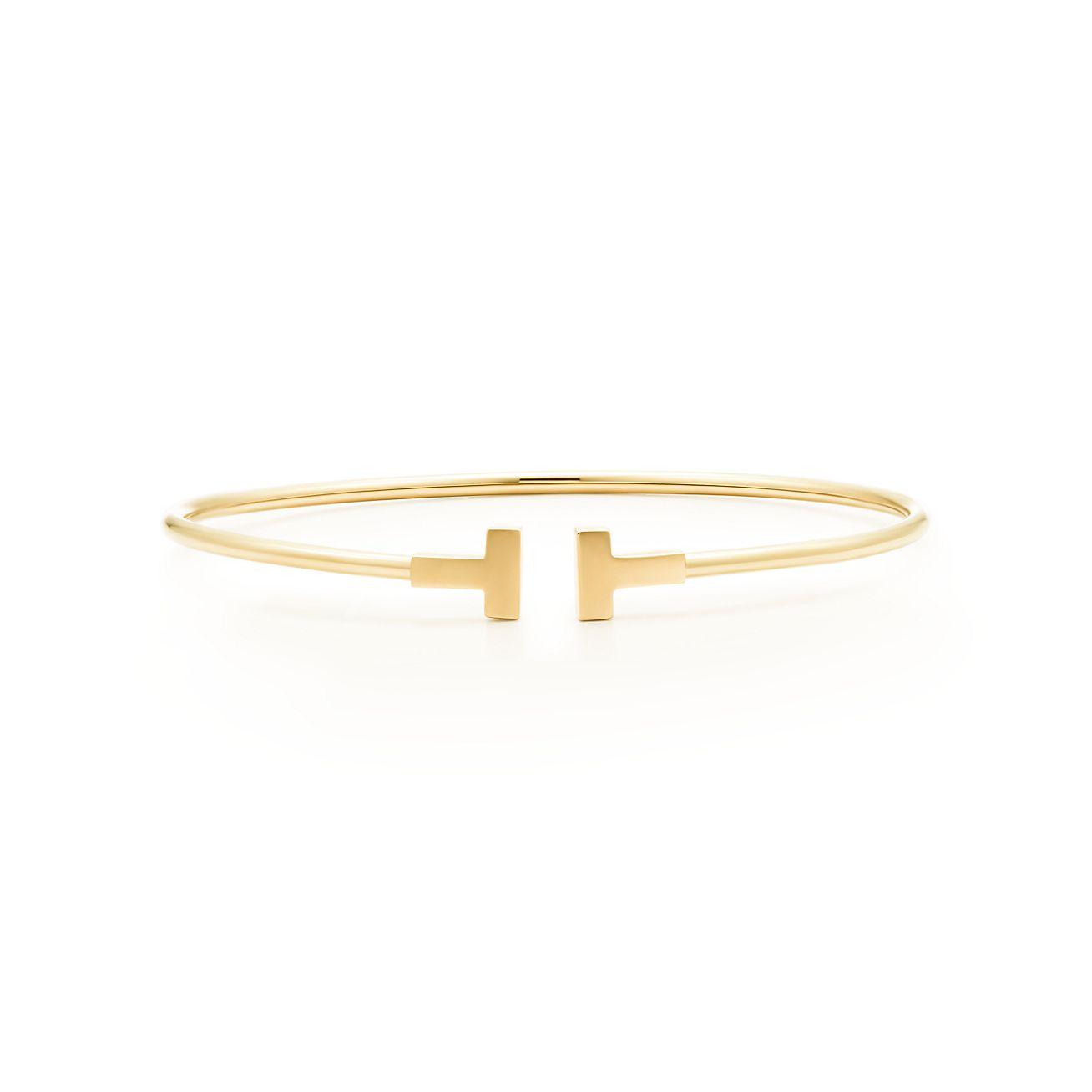 Tiffany T Narrow Wire Bracelet