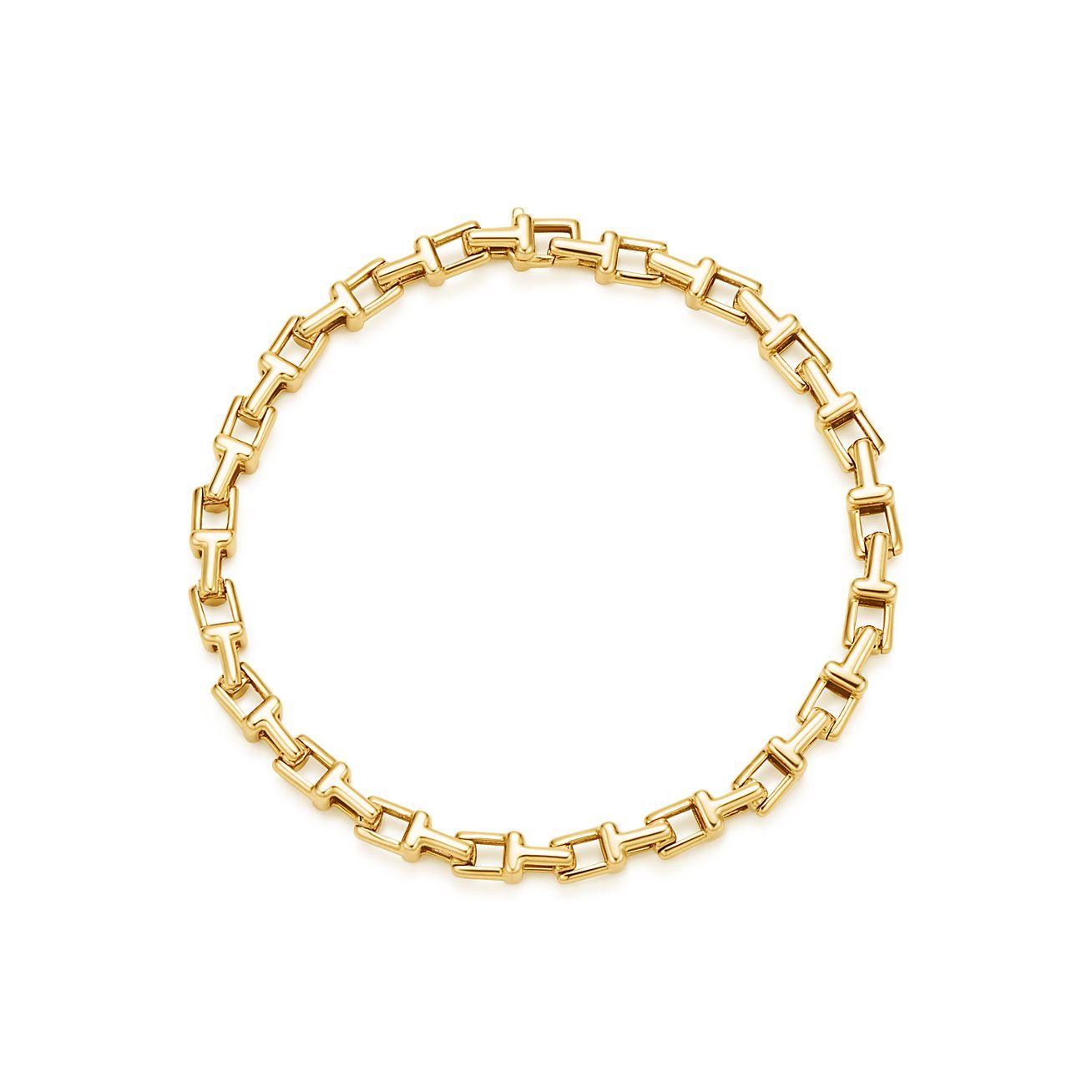 Tiffany T Narrow Chain Bracelet