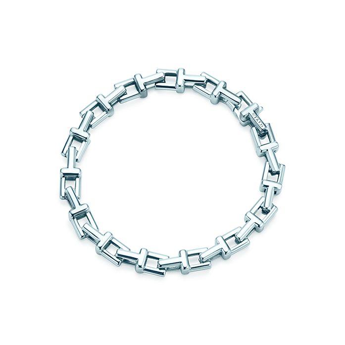 0042820da45fc Tiffany T chain bracelet in sterling silver, medium.   Tiffany & Co.