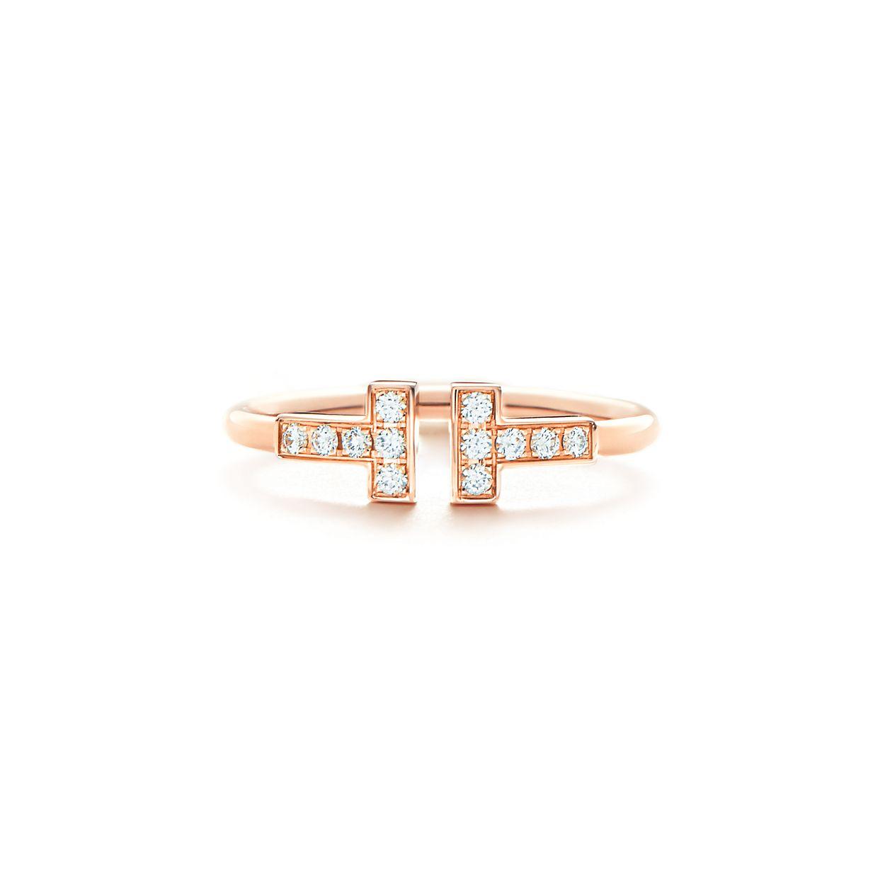 18kt rose gold Tiffany T wire cuff - Metallic Tiffany & Co. 168pLvoNw8