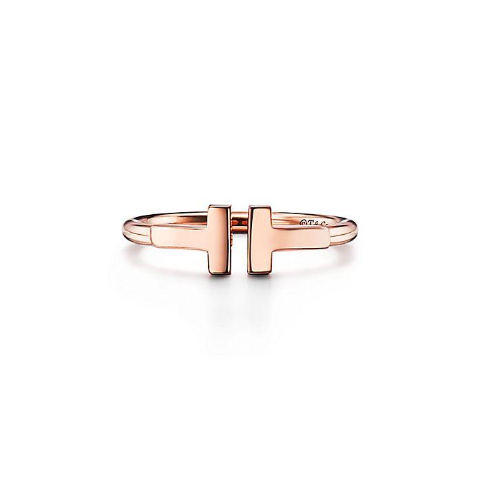 7afb549e1 Rose Gold Ring | Tiffany T | Tiffany & Co.