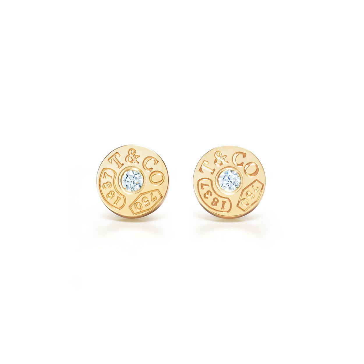 Tiffany 1837 Circle Earrings