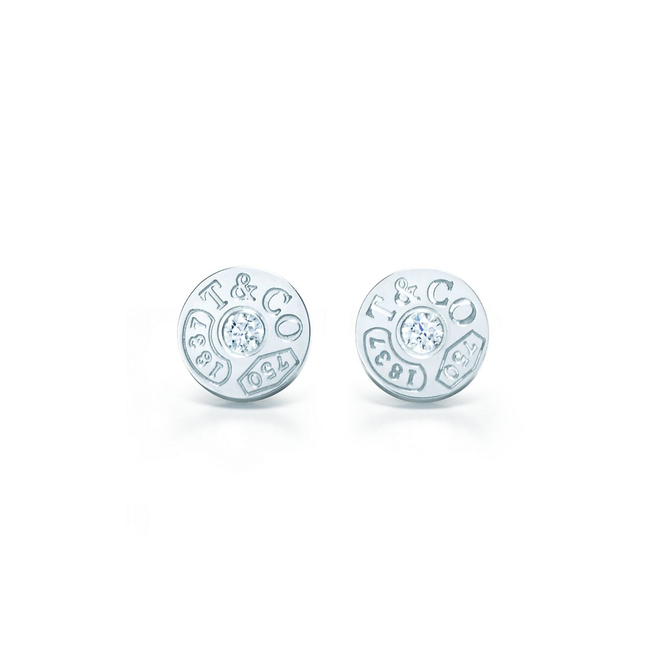 Tiffany 1837 Circle Earrings