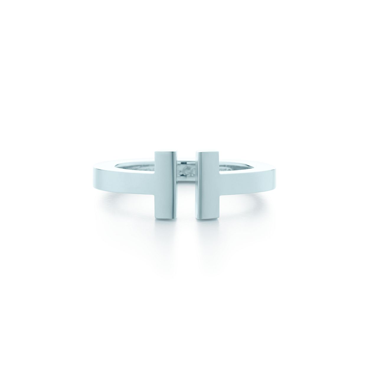 9187c520da8b0 Tiffany T square ring in sterling silver.   Tiffany   Co.