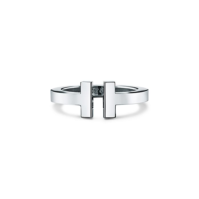 905d19293 Tiffany T square ring in sterling silver. | Tiffany & Co.