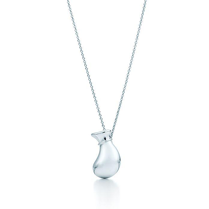 1714520e7 Elsa Peretti® Bottle jug pendant in sterling silver, mini. | Tiffany ...