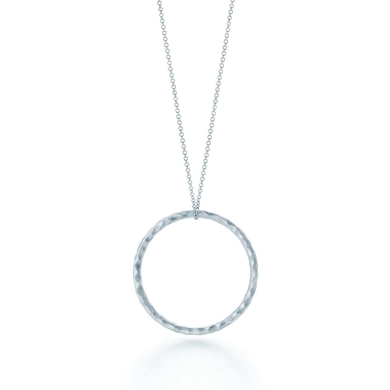 Popular Paloma Picasso® Hammered Circle pendant in sterling silver, medium  YC49