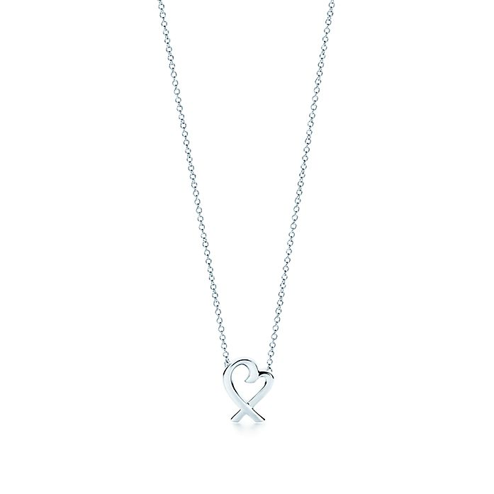 92aa245bc Paloma Picasso® Loving Heart pendant in sterling silver, mini ...