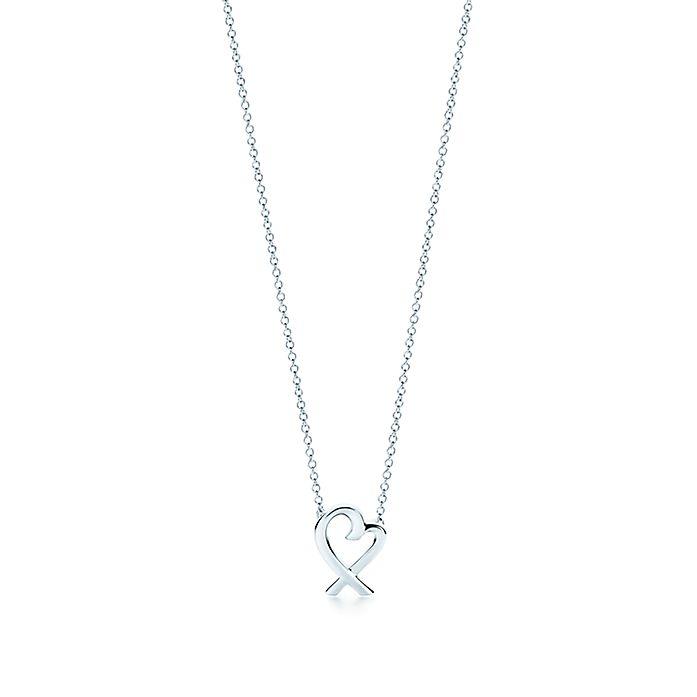 71f417250 Paloma Picasso® Loving Heart pendant in sterling silver, mini ...