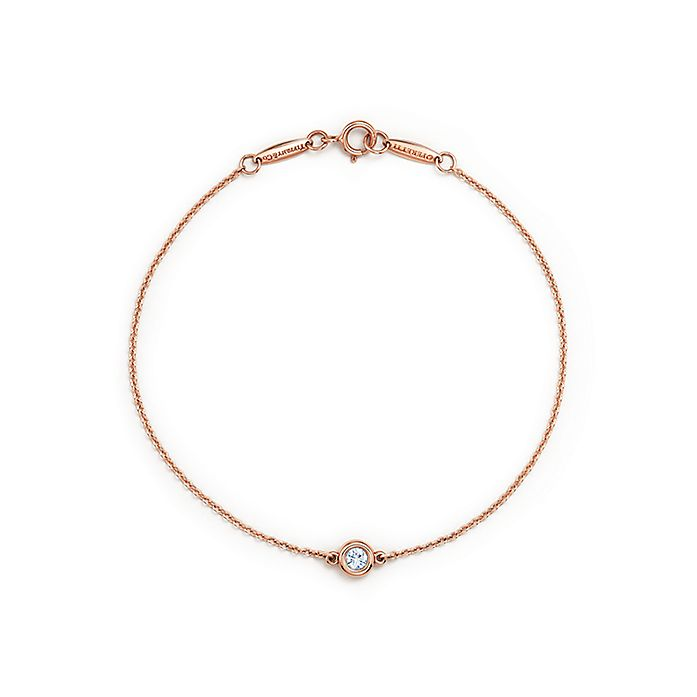 de26fc5f8c91d Elsa Peretti® Diamonds by the Yard® bracelet in 18k rose gold ...