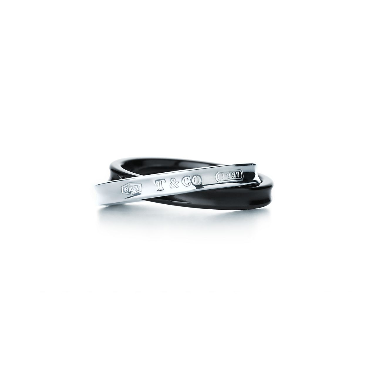 Tiffany 1837 interlocking circles ring in sterling silver - Size 6 Tiffany & Co. CgFy3bMHV