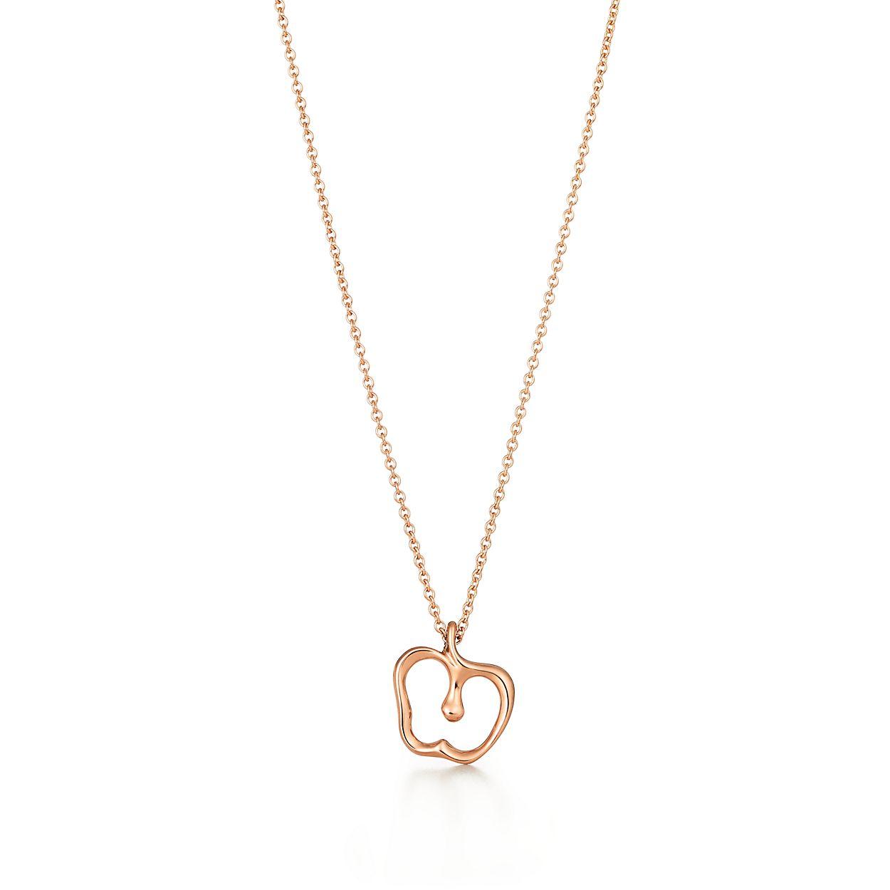 Elsa peretti apple pendant in 18k rose gold tiffany co elsa perettiapple pendant aloadofball Choice Image