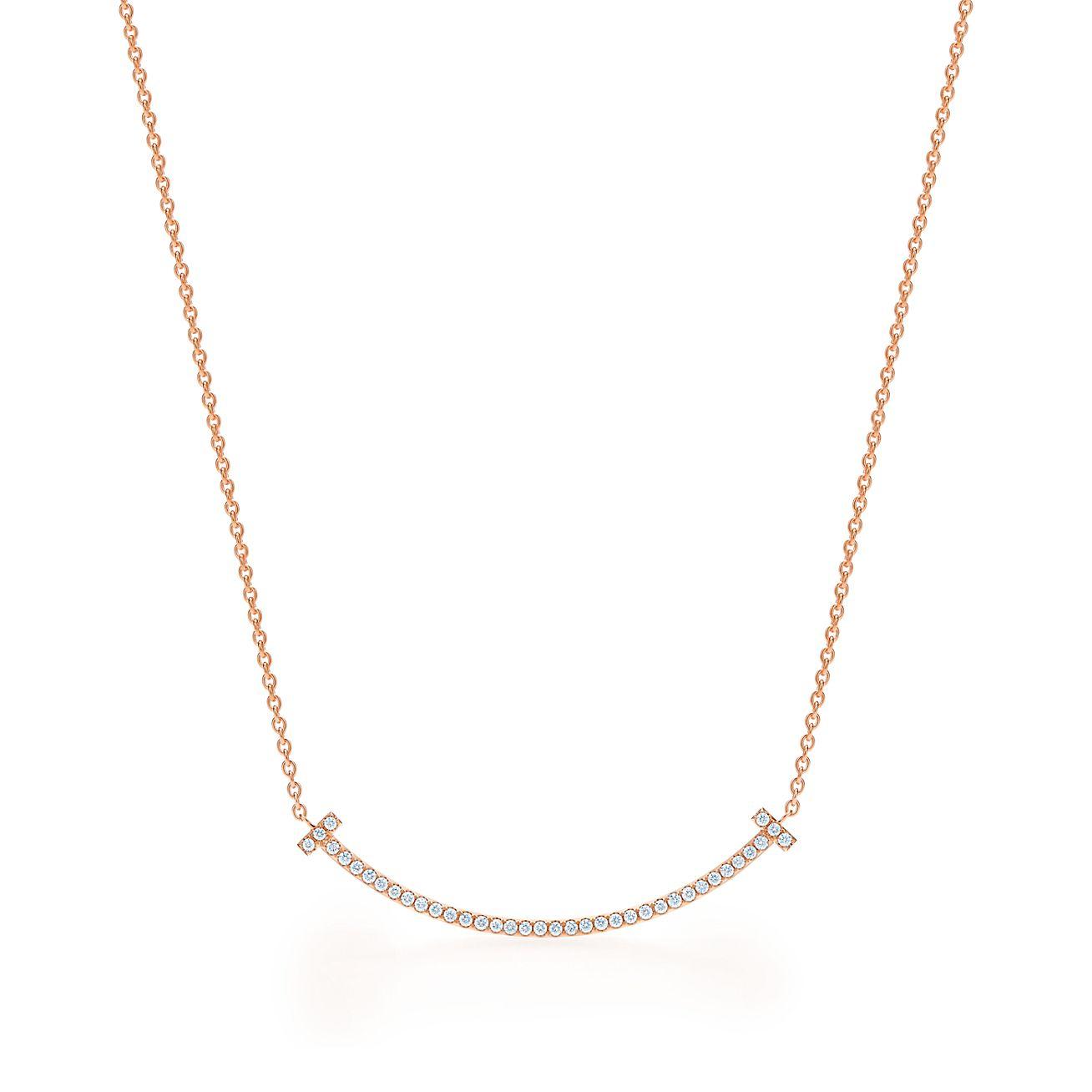 Tiffany Pulsera T Sonrisa En Oro De 18 Quilates, Pequeña - Pequeño Tamaño Tiffany & Co.