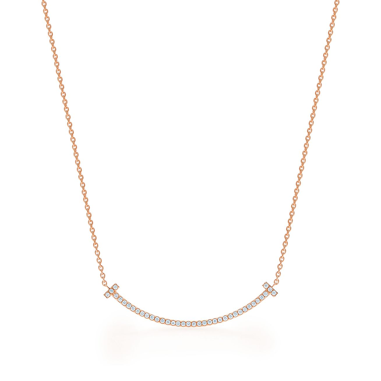 Chain in 18k rose gold, 16 long - Size 16 in Tiffany & Co.