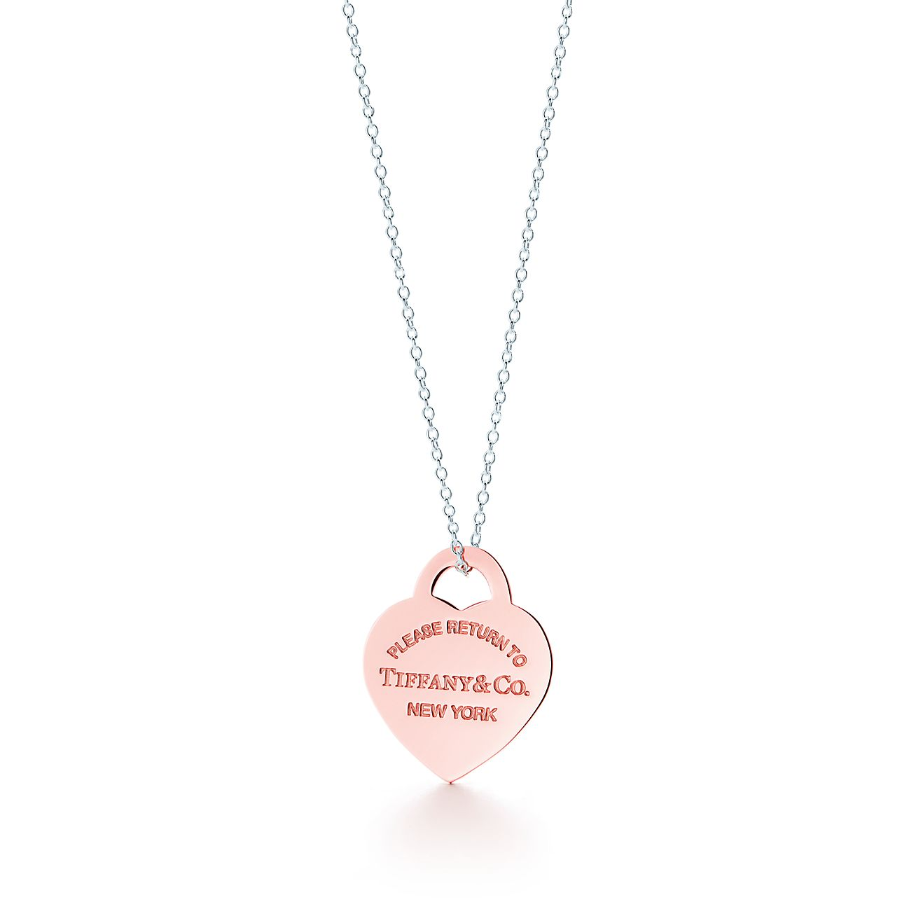 Return to tiffany heart tag pendant in rubedo metal and sterling return to tiffanyheart tag pendant aloadofball Image collections