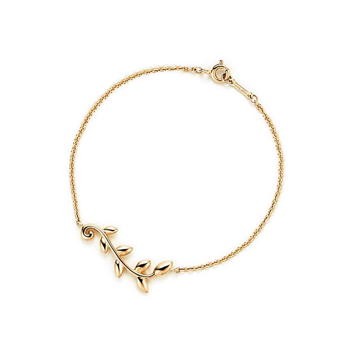 9caebf131 Paloma Picasso® Olive Leaf vine bracelet in 18k gold, medium ...