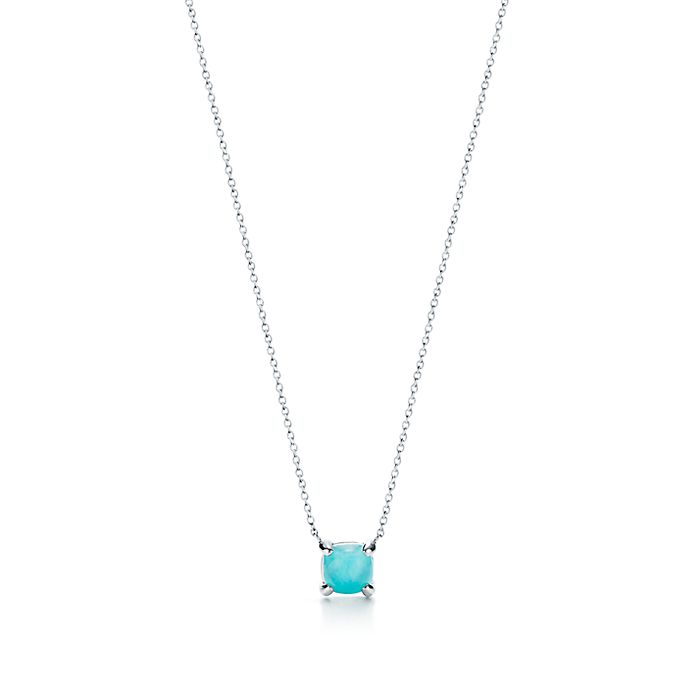 156a9f644 Paloma's Sugar Stacks amazonite pendant with sterling silver ...