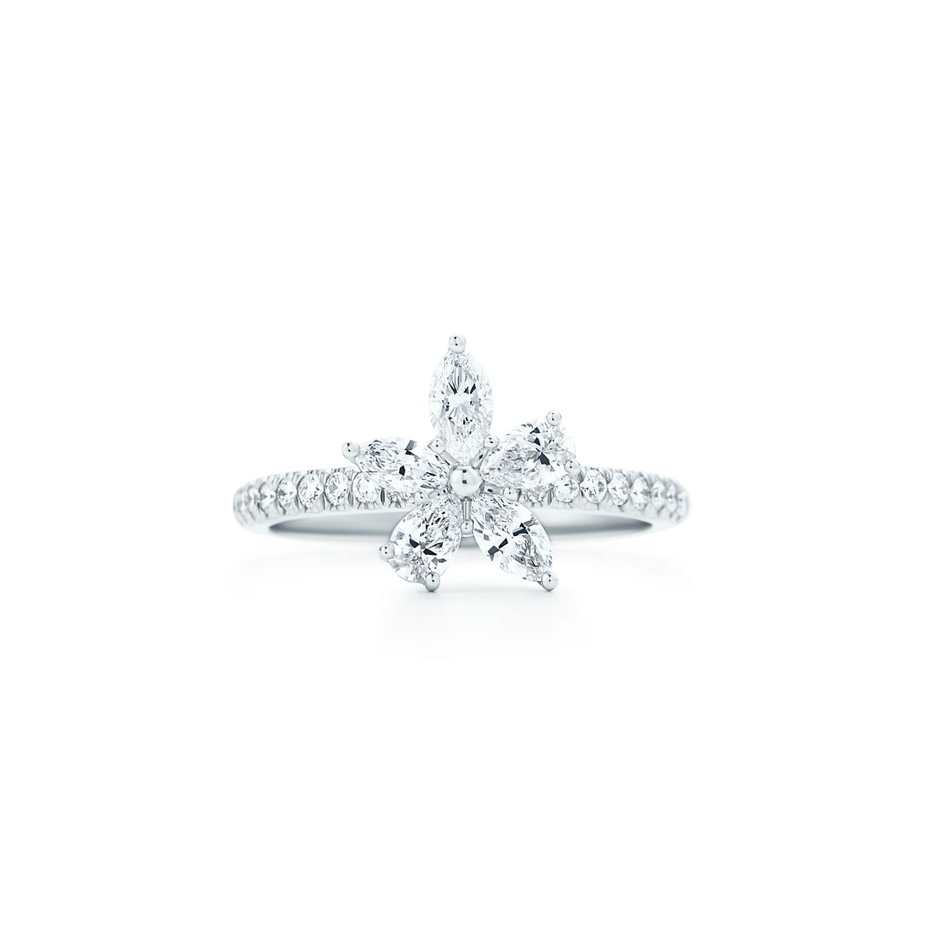 Image result for tiffany victoria mixed cluster ring