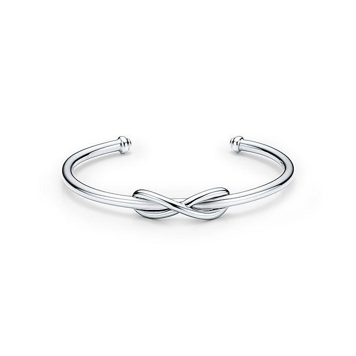 579ed33fa Tiffany Infinity cuff in sterling silver, medium. | Tiffany & Co.