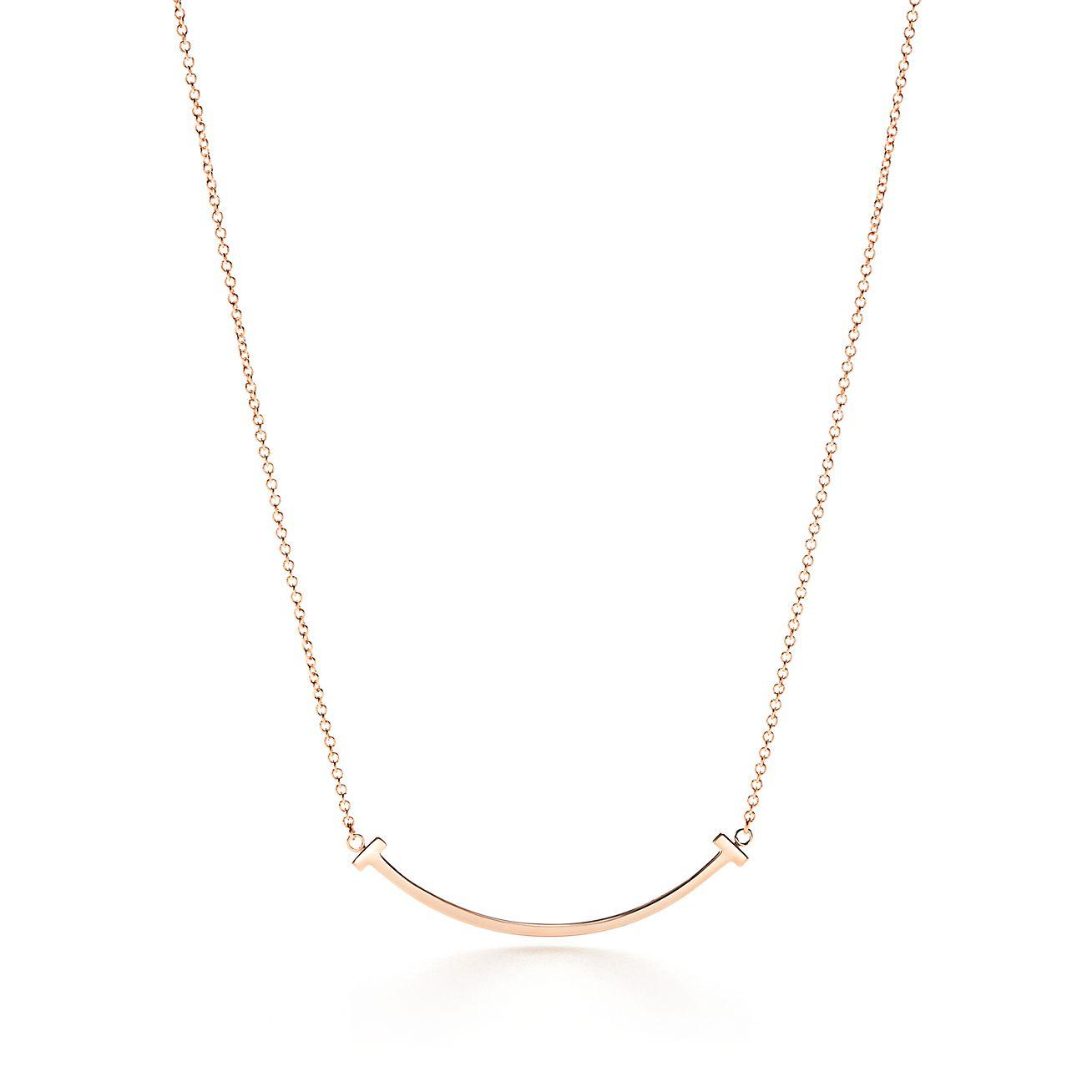 Tiffany Infinity pendant in 18k rose gold, mini Tiffany & Co.