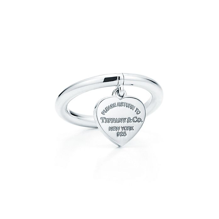 cc366493c Return to Tiffany™ heart tag ring in sterling silver. | Tiffany & Co.