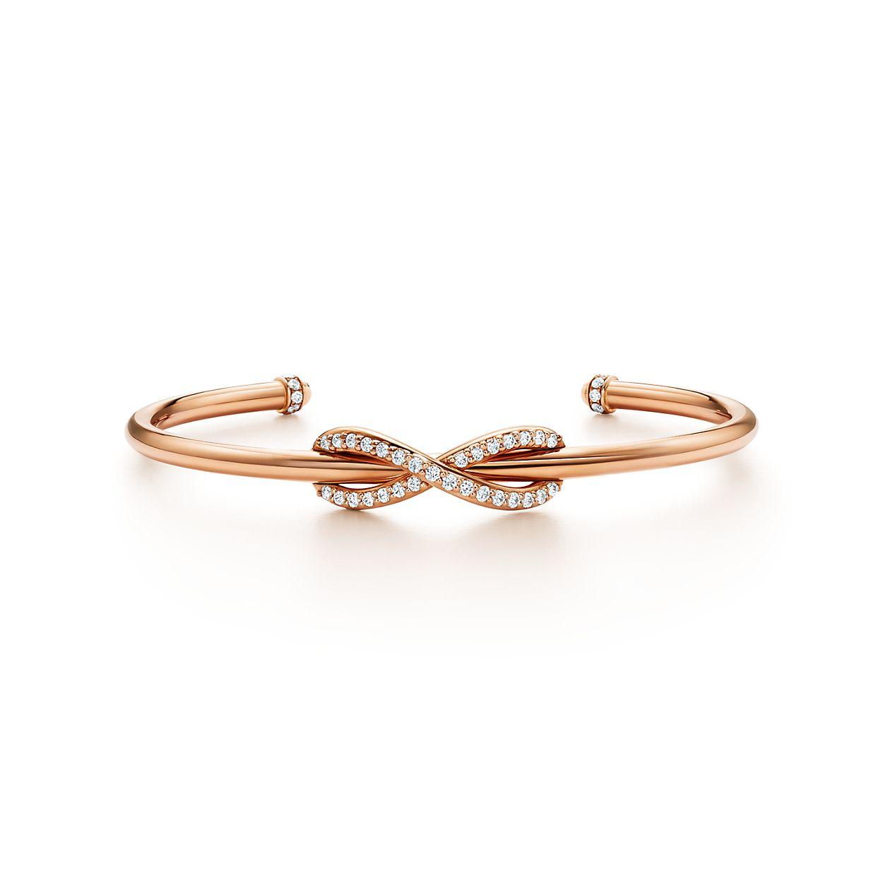Boucles D'oreilles À L'infini Tiffany En Or Rose 18 Carats Tiffany & Co. DRqqnUJE