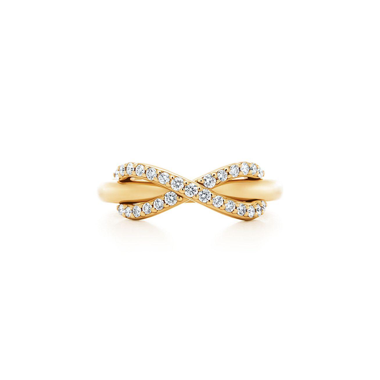 Anillo De Tiffany En El Infinito Oro De 18 Quilates - Tamaño 5 Tiffany & Co. NlvFSvSjW