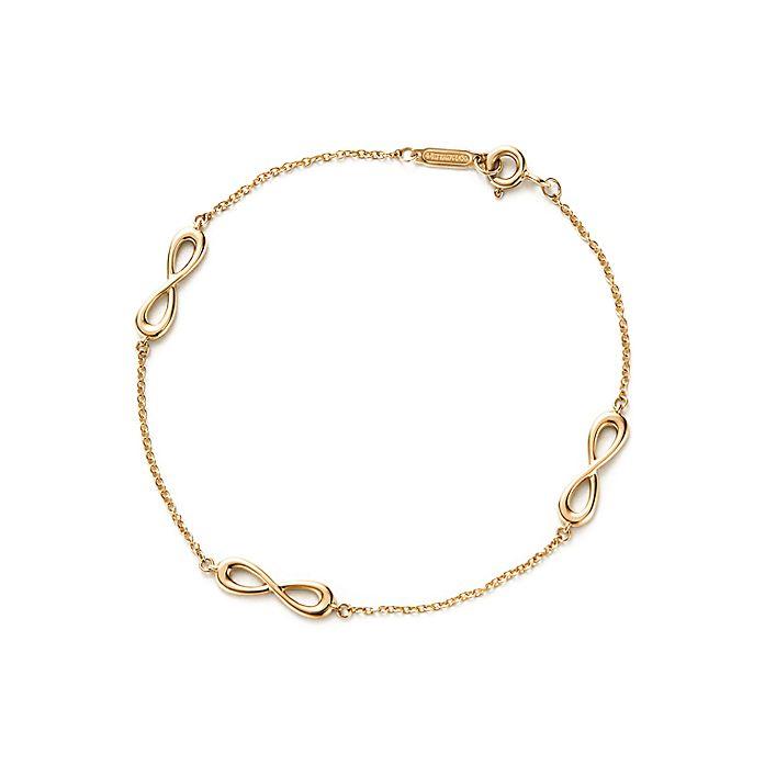 4f15b42c9a832e Tiffany Infinity endless bracelet in 18k gold, medium. | Tiffany & Co.