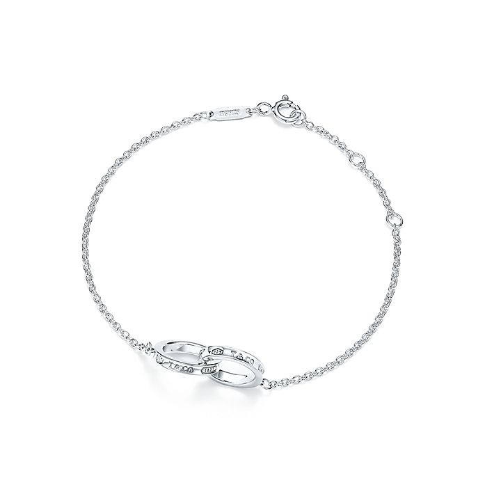 394fa466c Tiffany 1837® interlocking circles bracelet in sterling silver ...