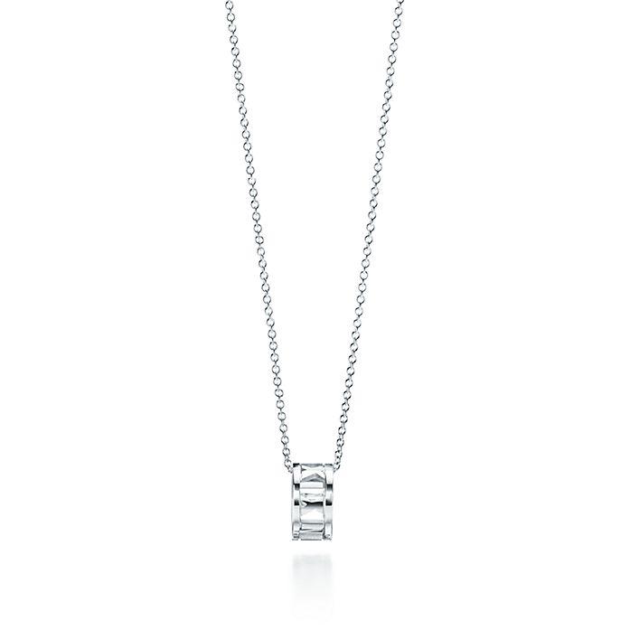 2f9394bbd Atlas® open pendant in sterling silver, small. | Tiffany & Co.