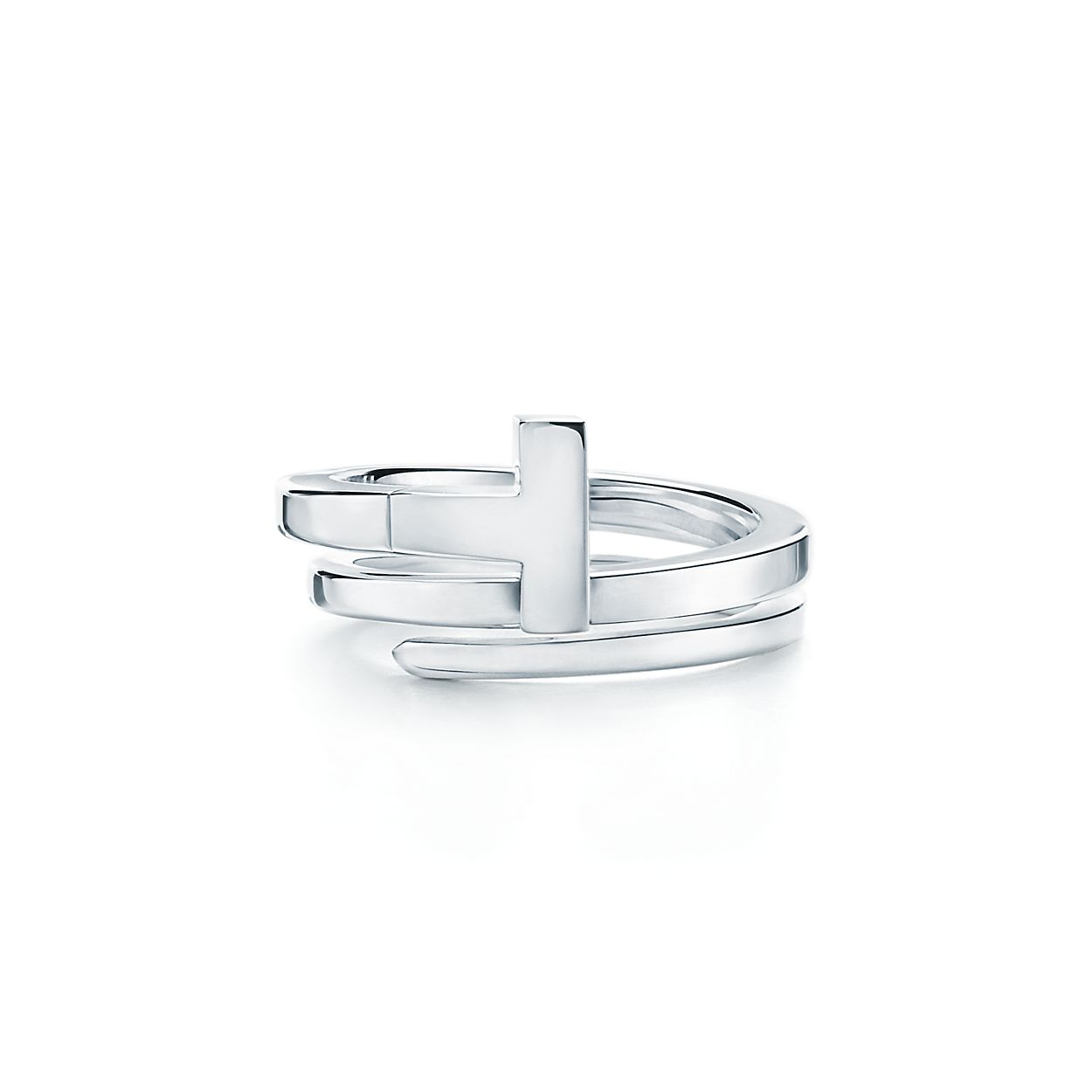 1e4bb1e6a8c7f Tiffany T square wrap ring in sterling silver.   Tiffany   Co.