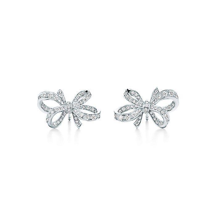 6c51e64f1 Tiffany Bow Earrings - Best All Earring Photos Kamilmaciol.Com