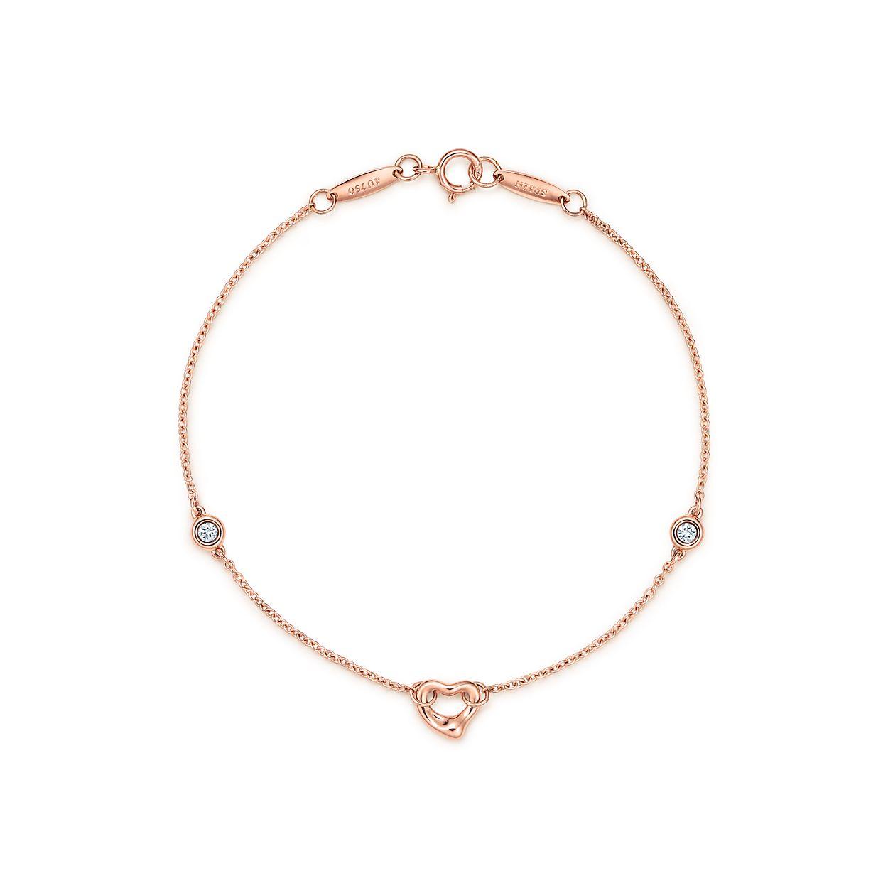 Elsa Peretti Diamonds By The Yard Br Open Heart Bracelet