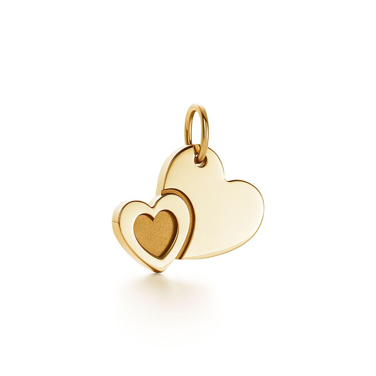 tiffany charms sweet heart charm in 18k gold tiffany co