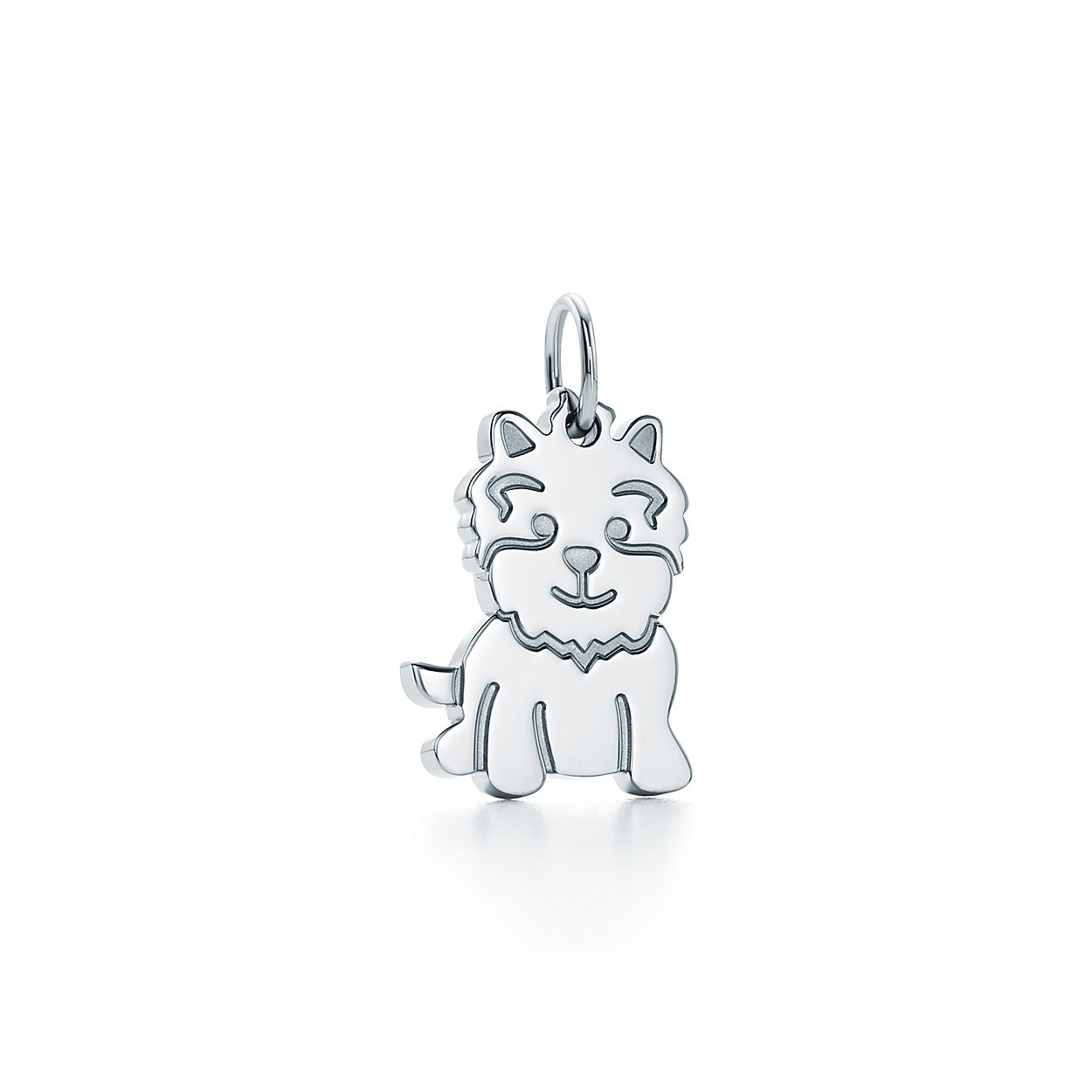 Tiffany charms new yorkie charm in sterling silver tiffany co tiffany charmsnew yorkie charm aloadofball Gallery