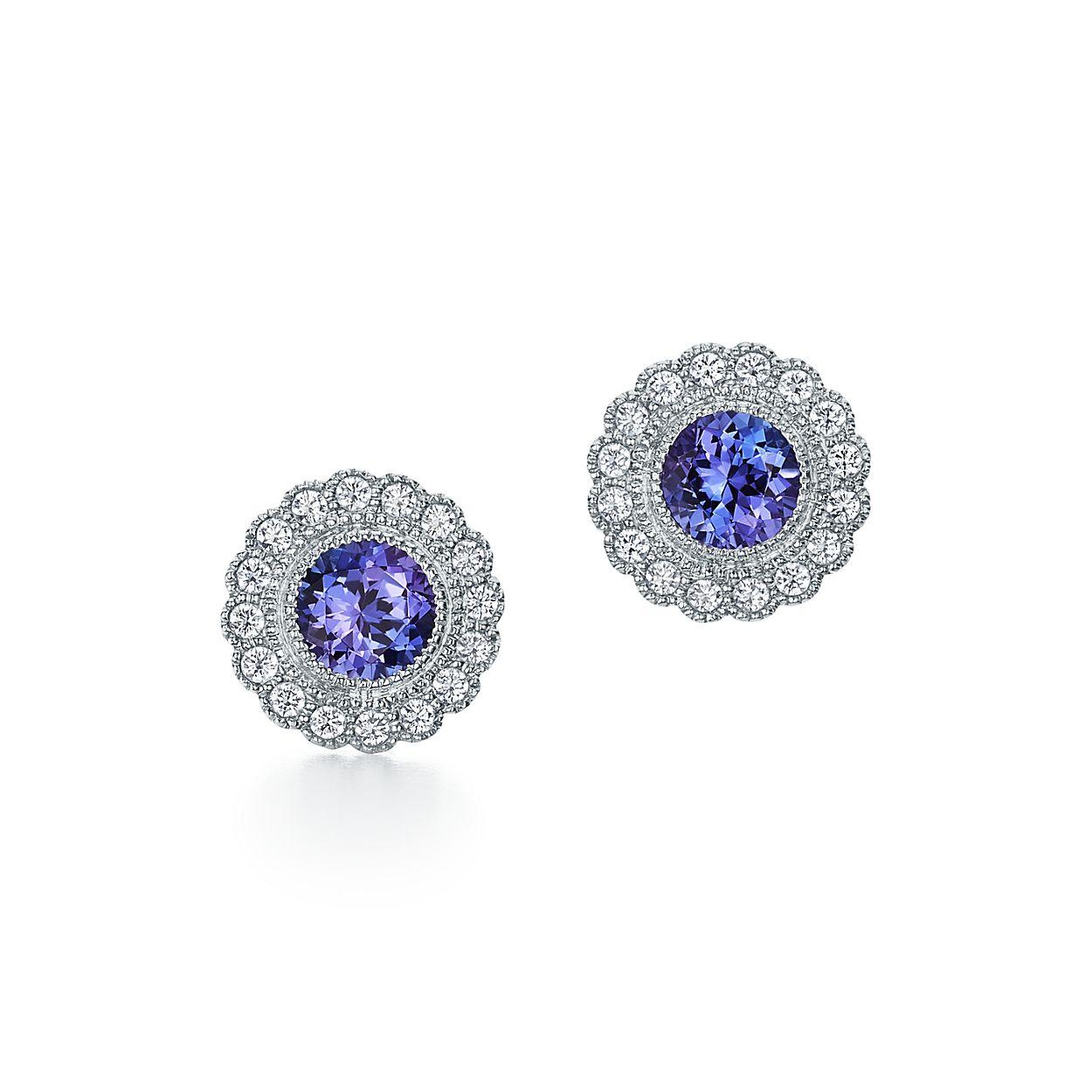 Tiffany Enchant Tanzanite Earrings
