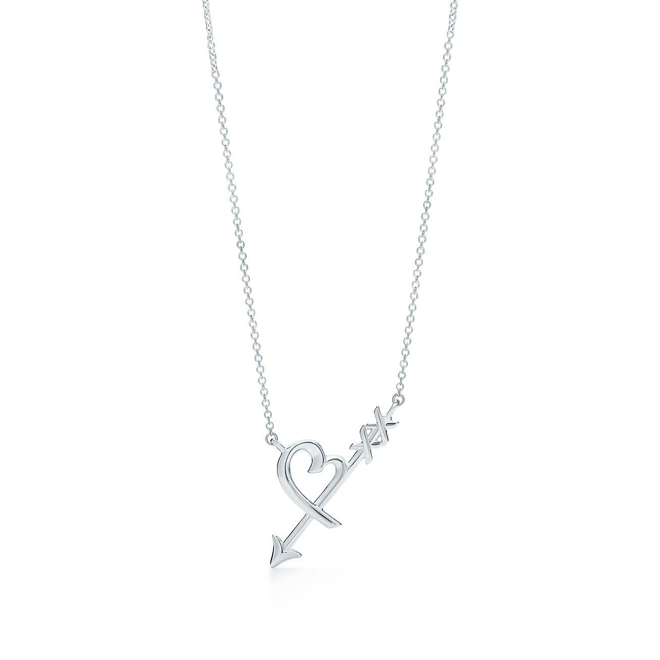 Palomas Graffiti arrow pendant in sterling silver, small Tiffany & Co.