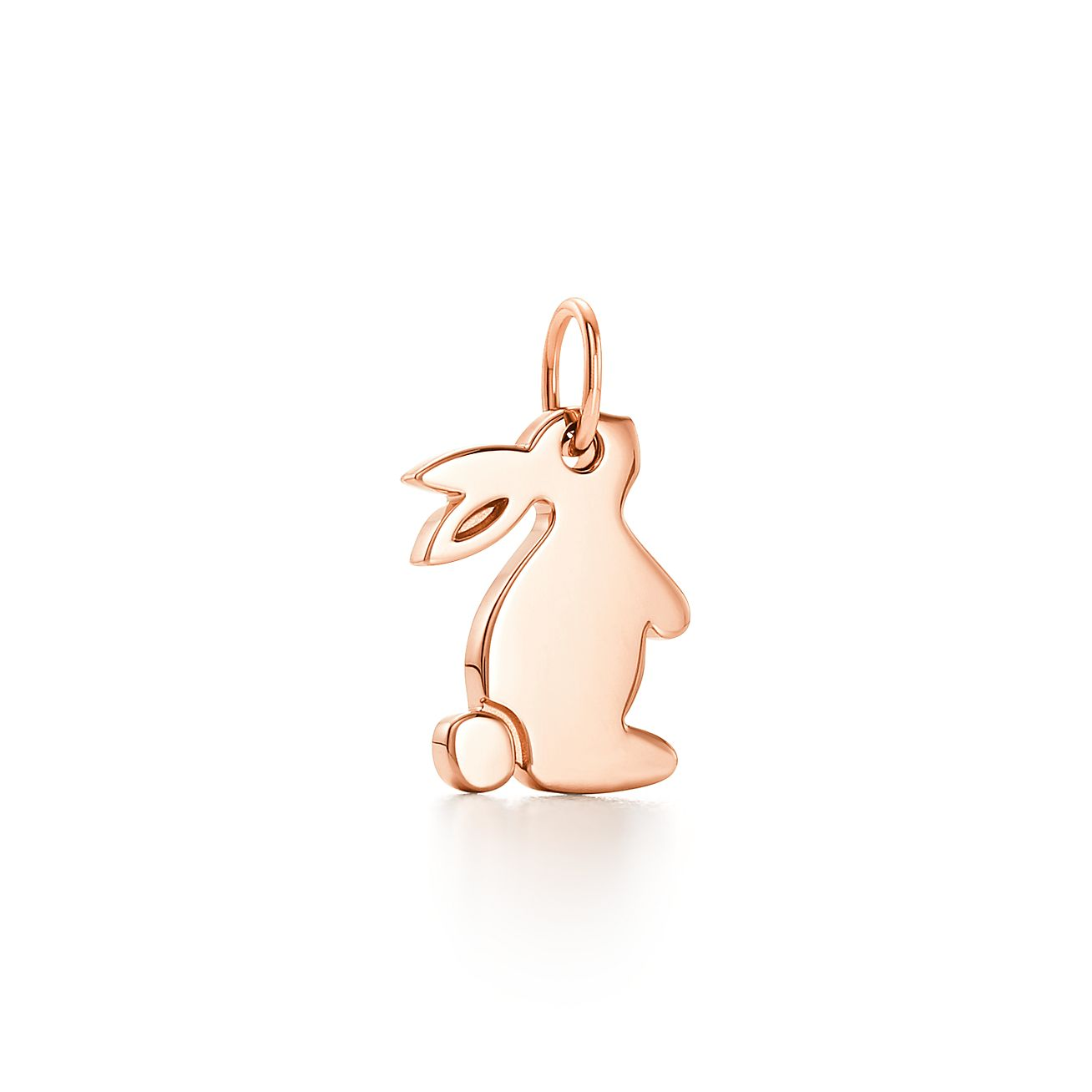 Tiffany Charms snuggle bunny charm in 18k gold Tiffany & Co.