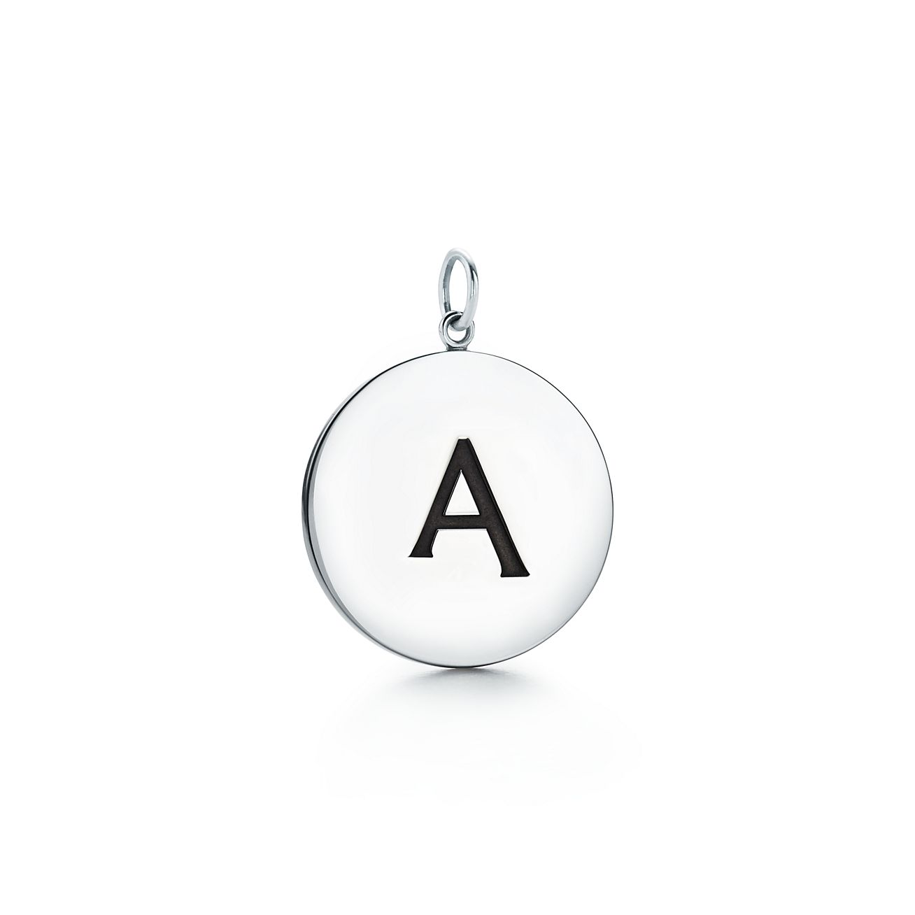 Tiffany Charms alphabet charm in sterling silver Letters A-Z available - Size Z Tiffany & Co.