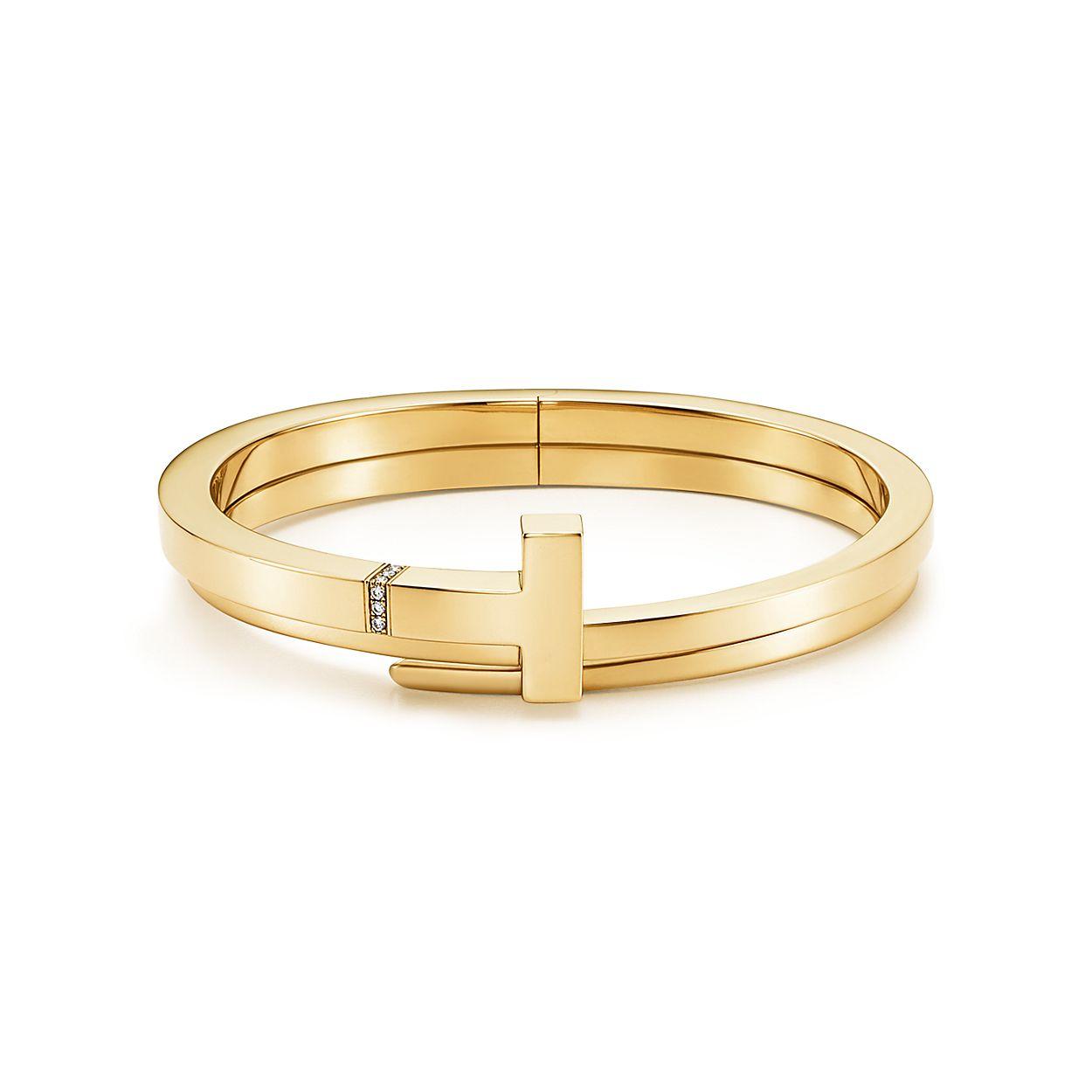 Tiffany T Square Wrap Bracelet