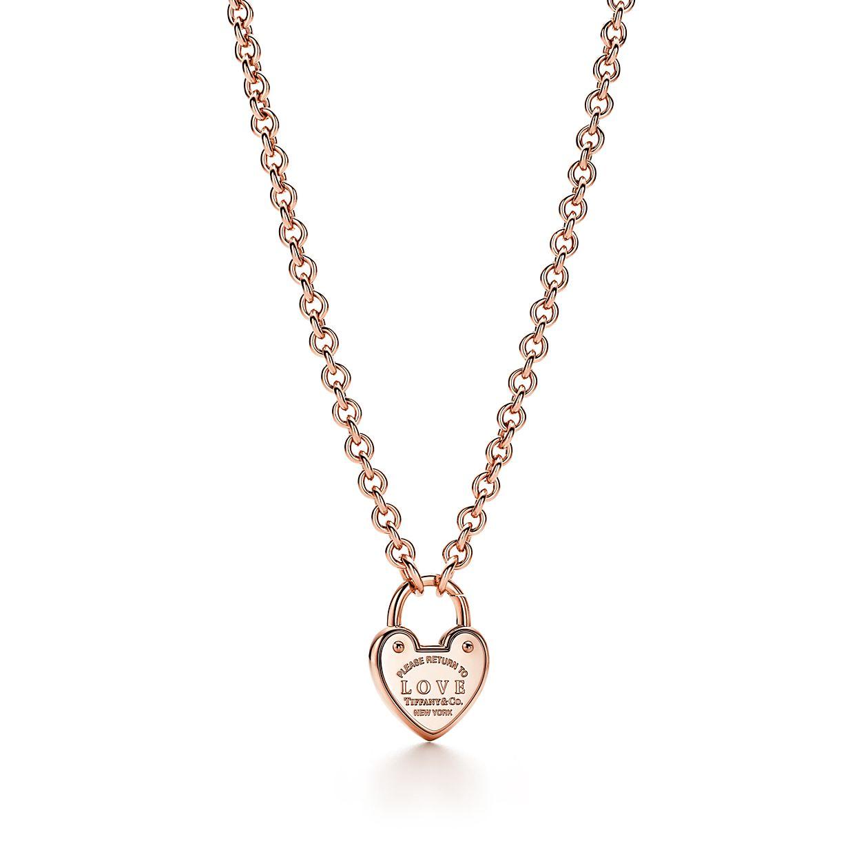 Collier à pendentif cadenas portant l inscription « Love » en or ... 330a07e8589d