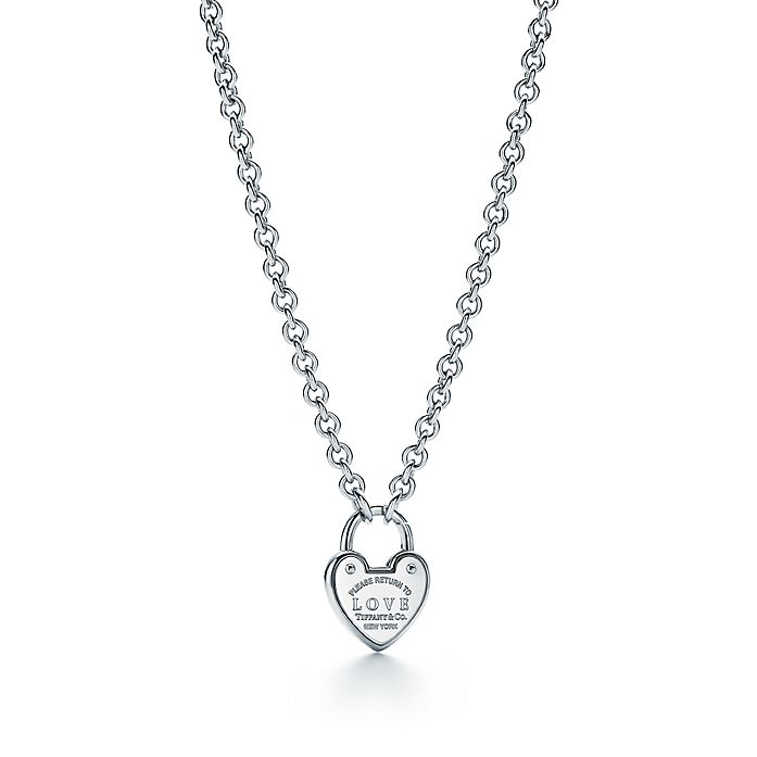 471ff0c00 Return to Tiffany® Love lock necklace in sterling silver. | Tiffany ...