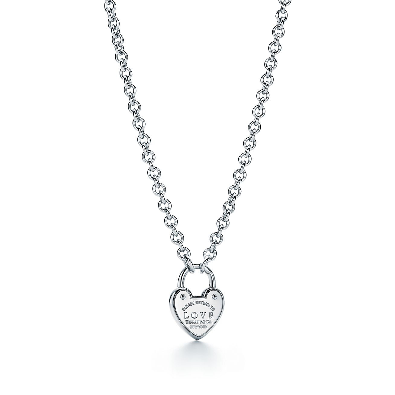 Return to Tiffany Love lock charm in sterling silver Tiffany & Co.
