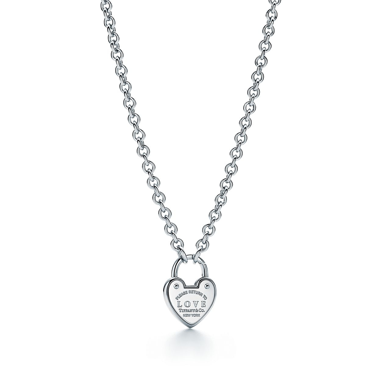 Return to Tiffany Love lock charm in sterling silver Tiffany & Co. RJ3I7